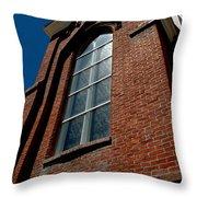St. Mary's In The Mountains Catholic Church Throw Pillow