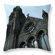 St. Mary's Of The Rosary Catholic Church Throw Pillow