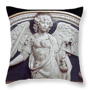 St. Michael The Archangel Throw Pillow
