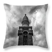St. Michael's Roman Catholic Church Throw Pillow