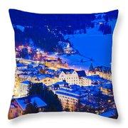 St. Moritz Throw Pillow