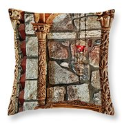 St. Nicholas Chapel Iv Throw Pillow