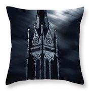 St Nicholas Church Wilkes Barre Pennsylvania Throw Pillow