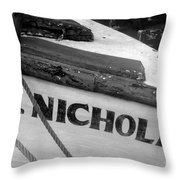 St. Nicholas Throw Pillow