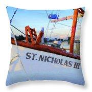 St. Nicholas IIi Throw Pillow