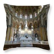 St. Nicholas Of Tolentine Church - IIi Throw Pillow