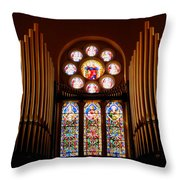 St. Nicholas Of Tolentine Church - V Throw Pillow