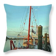 St. Nick  Throw Pillow