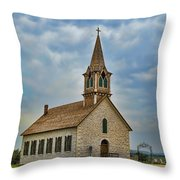 St Olafs Church Throw Pillow