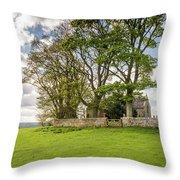 St Oswald's Church Heavenfield Throw Pillow