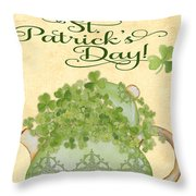 St. Patrick-jp3192-a Throw Pillow