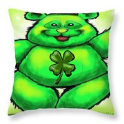 St. Patrick Throw Pillow