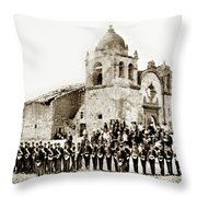 St. Patrick's Cadets On The Third Of July, 1882 At The  Throw Pillow