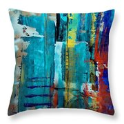 St Patricks Cathedral Nyc Throw Pillow