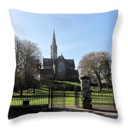 St. Patrick's Cathedral, Trim Throw Pillow