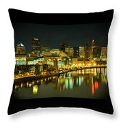 St. Paul In The Evening Throw Pillow