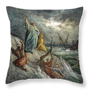 St. Paul: Shipwreck Throw Pillow
