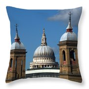 St Pauls An Alternate View Throw Pillow