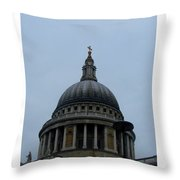 St. Paul's Cathedral Dome Throw Pillow