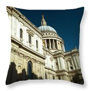 St Pauls Cathedral London 2 Throw Pillow