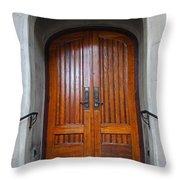 St Paul's Episcopal Church In San Francisco II Throw Pillow
