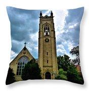 St Pauls Episopal Church Throw Pillow