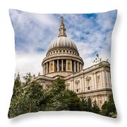 St Pauls Summer Throw Pillow