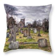 St Peter And St Paul Headcorn Throw Pillow