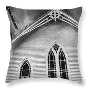 St Peter United Methodist Church-digital Art Throw Pillow