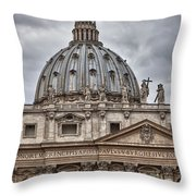 St. Peter's Basilica Throw Pillow