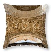 St Peter's Ceiling Detail Throw Pillow