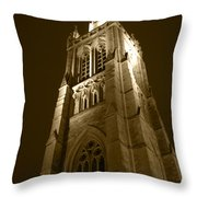 St Peter's Church Bournemouth Throw Pillow