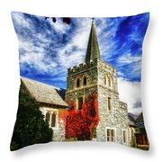 St. Peter's Church Throw Pillow