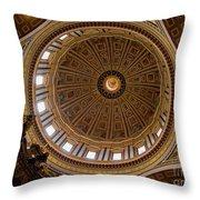 St. Peter's Duomo 1 Throw Pillow