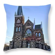 St. Peter's Harpers Ferry Throw Pillow
