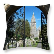 St Peters Marlow Throw Pillow