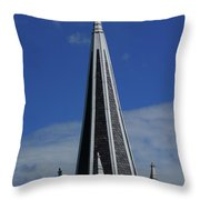 St. Peter's Roman Catholic Church's Steeple In Harpers Ferry Throw Pillow