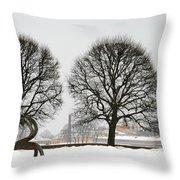 St. Petersburg - Winter Throw Pillow