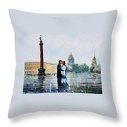 St. Petersburg Throw Pillow