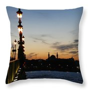 St. Petersburg Throw Pillow