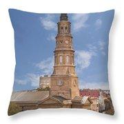 St Philips Episcopal Church Throw Pillow