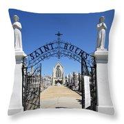 St. Roch Gate #2 Throw Pillow