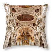 St. Stephen Cathedral Interior Throw Pillow