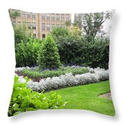 St. Stephen's Garden Throw Pillow