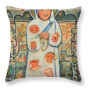 St. Teresa Of Kolkata Throw Pillow