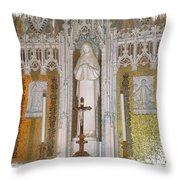 St Therese Of Liseaux Throw Pillow