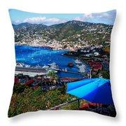 St. Thomas - Caribbean Throw Pillow