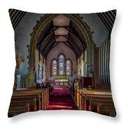 St Thomas Church, St Dogmaels Throw Pillow