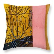 St. Thomas Gate Throw Pillow