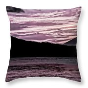 St Thomas - Sunset 2 Throw Pillow